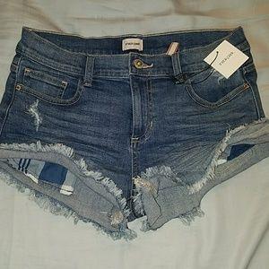 Blue Jeans Shorts